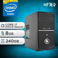 NFX PC I7 9700 - 282 SSD ( INTEL CORE I7 9700 [9ª GERAÇÃO] / 8GB / SSD 240GB )