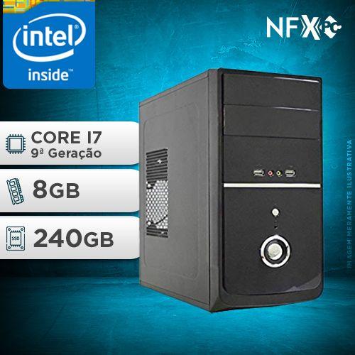 NFX PC I7 9700 - 282 SSD ( INTEL CORE I7 [9ª GERAÇÃO] / 8GB / SSD 240GB )