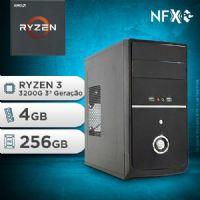 NFX PC RYZEN 3 3200G - 242G SSD ( AMD RYZEN 3 3200G [3ª GERAÇÃO] / 4GB / SSD 256GB )