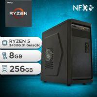 NFX PC RYZEN 5 3400G - 282 SSD ( AMD RYZEN 5 3400G [3ª GERAÇÃO] / 8GB / SSD 256GB )