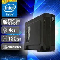 NFX PC G5400 - 141R SSD SLIM ( PENTIUM G5400 / SSD 120GB / 4GB RAM / MB ASROCK )