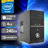 NFX PC CORE I5 8400 - 242G SSD ( CORE  I5 8400 / SSD 240GB / 4GB RAM / MB GIGABYTE )