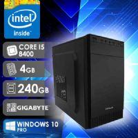 NFX PC I5 8400 - 242G SSD W10  ( CORE I5 8400 / SSD 240GB / 4GB RAM / MB GIGABYTE / WINDOWS 10 PRO )