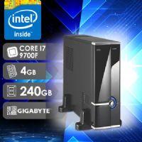 NFX PC I7 9700F - 142G SSD SLIM  ( CORE I7 9700F / SSD 240GB / 4GB RAM / GT210 1GB / MB GIGABYTE )