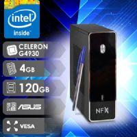 NFX PC G4930 - 141A SSD VESA (CELERON G4930 / SSD 120GB / 4GB RAM / MB ASUS / VESA )