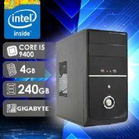 NFX PC I5 9400 - 242G SSD ( CORE I5 9400 / SSD 240GB / 4GB RAM / MB GIGABYTE )