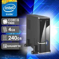 NFX PC I5 9400 - 142G SSD SLIM ( CORE I5 9400 / SSD 240GB / 4GB RAM / MB GIGABYTE )