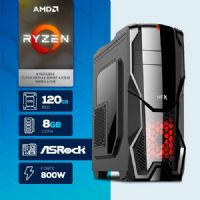 NFX PC GAMER AMD RYZEN 7 2700X - 481R SSD 800W ( RYZEN 7 2700X / SSD 120GB / 8GB RAM / MB ASROCK )