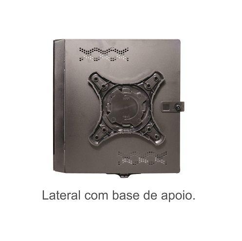 KIT MONTADO - MB PCWARE INTEGRADA COM INTEL DUAL CORE J1800 / SSD 120GB / 4GB RAM / GABINETE MINI-ITX/PDV