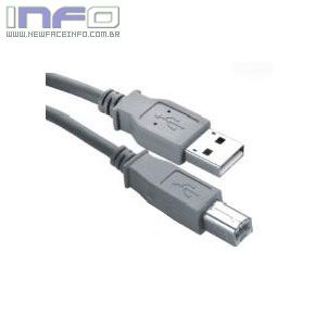 Cabo USB A Macho X B Macho 1.80 Metros
