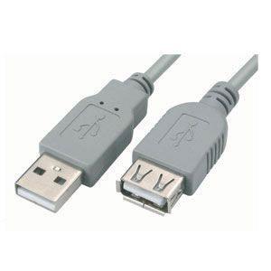Cabo Extensor USB Macho x Fêmea 3,00 Metros