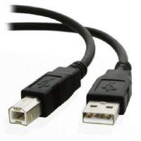 Cabo USB A Macho X B Macho 1,80 metros V2.0 c/ Filtro GV CBU085
