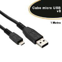 Cabo de dados micro USB V8 1 metro (Samsung / LG / Motorola / Asus ) - Empire (2015)