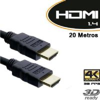 Cabo HDMI Macho X HDMI Macho 20 metros com filtro v1.4 / TV 3D - Empire (1535)