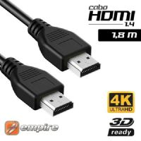 Cabo HDMI Macho X HDMI Macho 1,80 metros V1.4 / TV 3D Empire (4153)