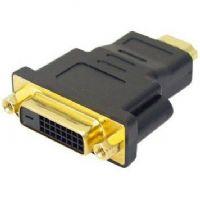 ADAPTADOR HDMI MACHO X DVI FEMEA