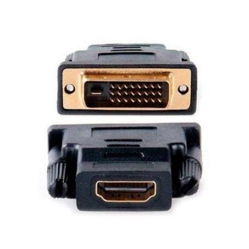 Adaptador HDMI Fêmea X DVI Macho Stock