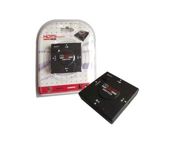 SWITCH HDMI 3 PORTAS JC-HDMI3 EMPIRE 3422