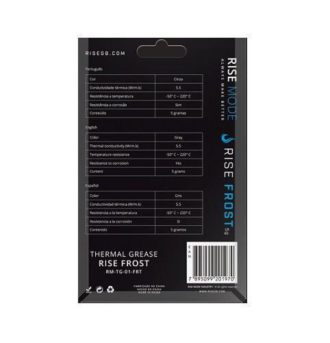 Pasta Térmica Silver 5G Risemode