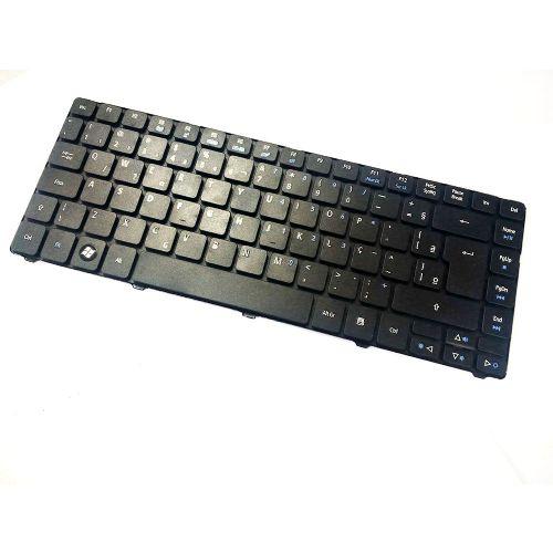 Teclado Notebook Acer ABNT Preto